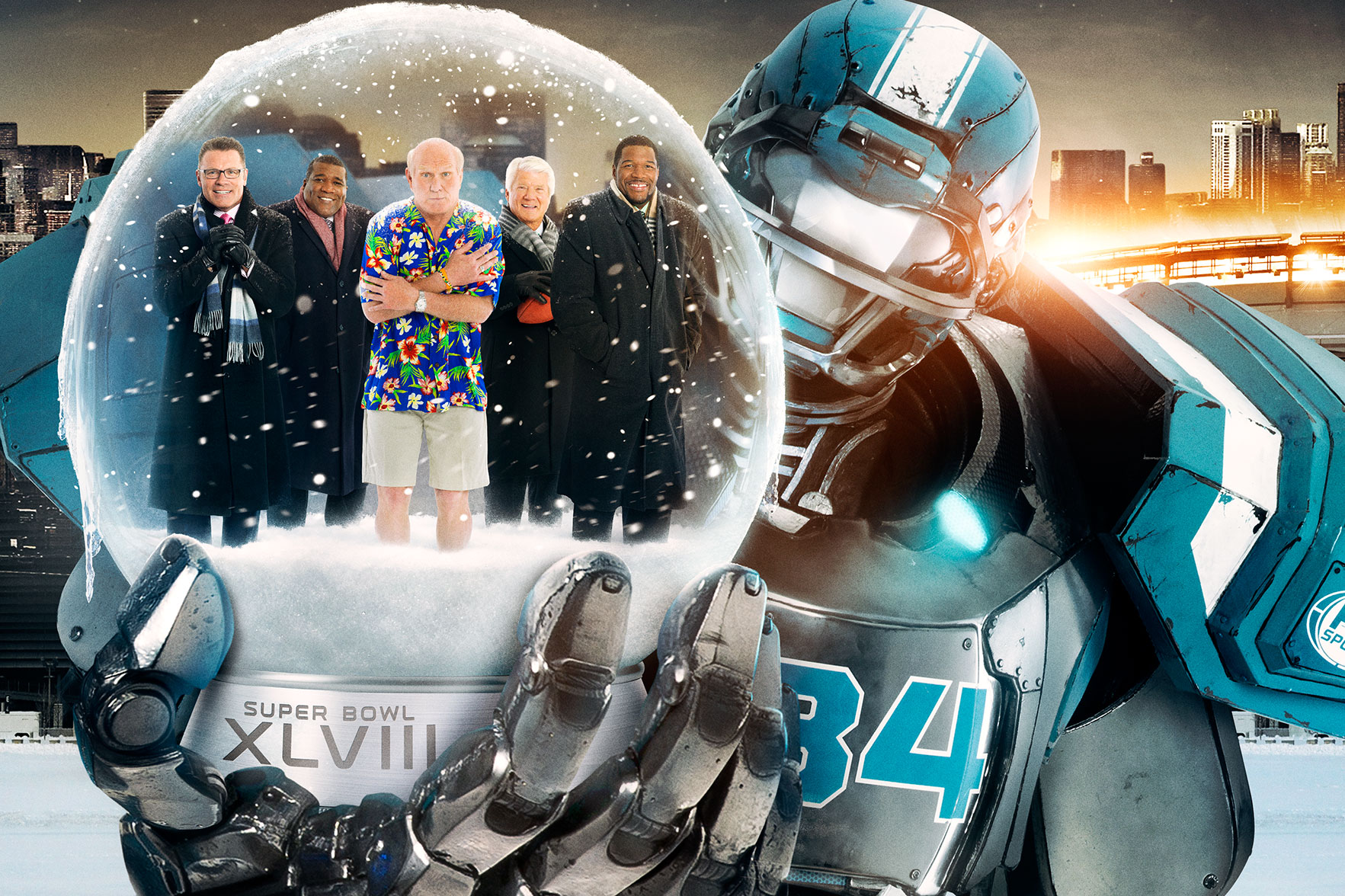 Fox Sports | Superbowl XLVIII Key Art