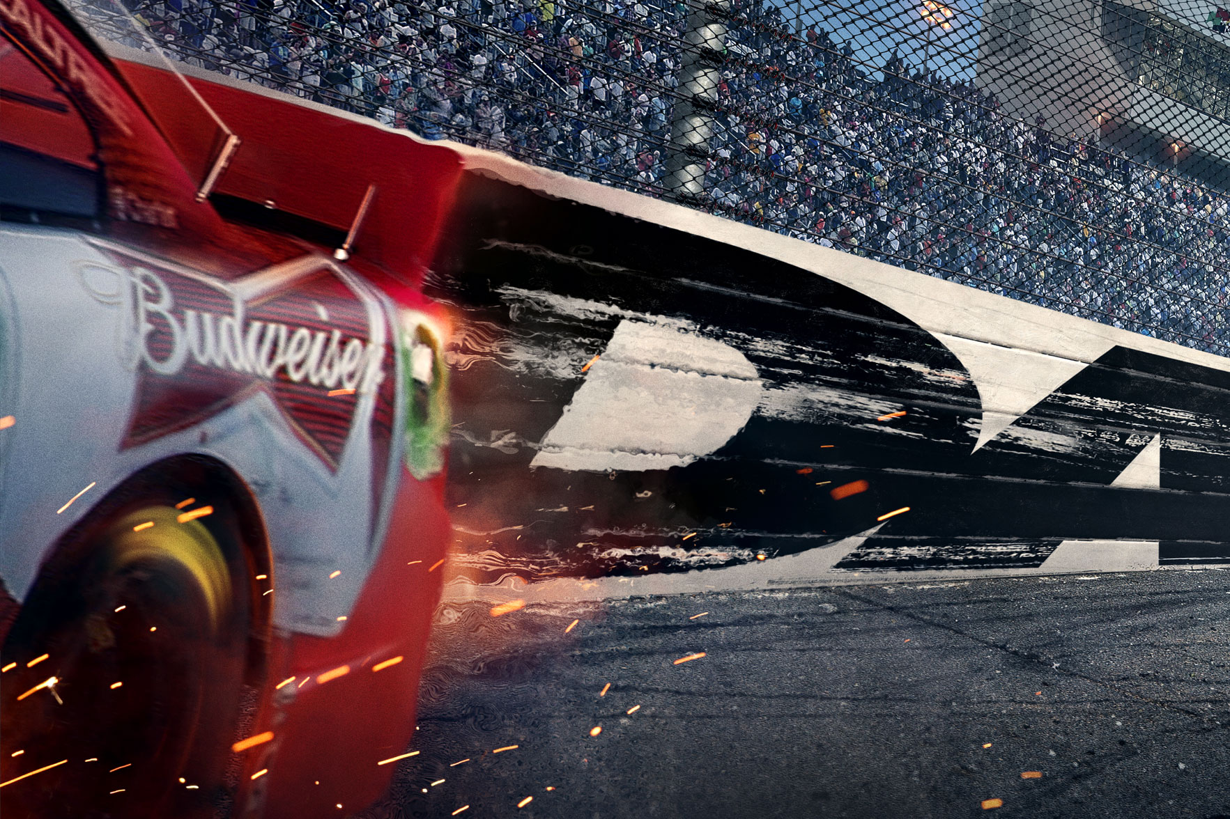 Fox Sports | Daytona 500 Key Art