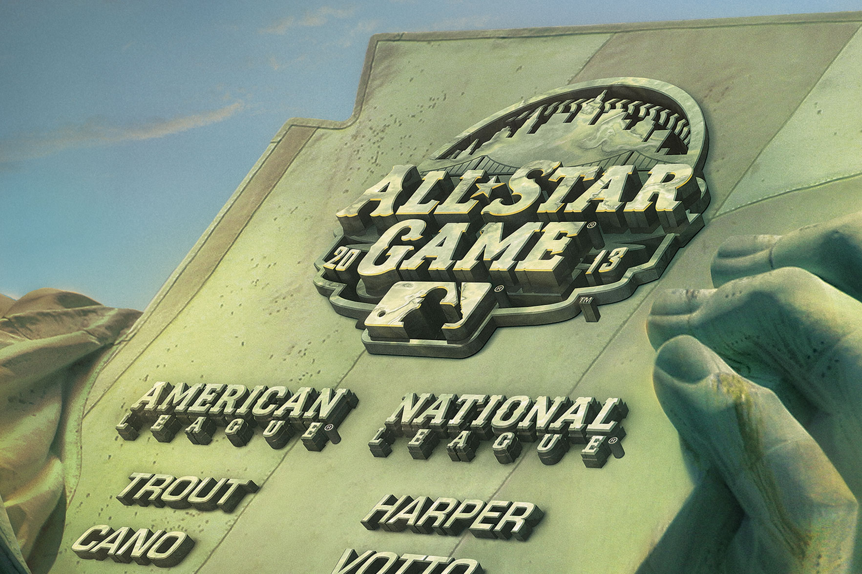Fox Sports MLB Allstars | Fox Studios Lot Board