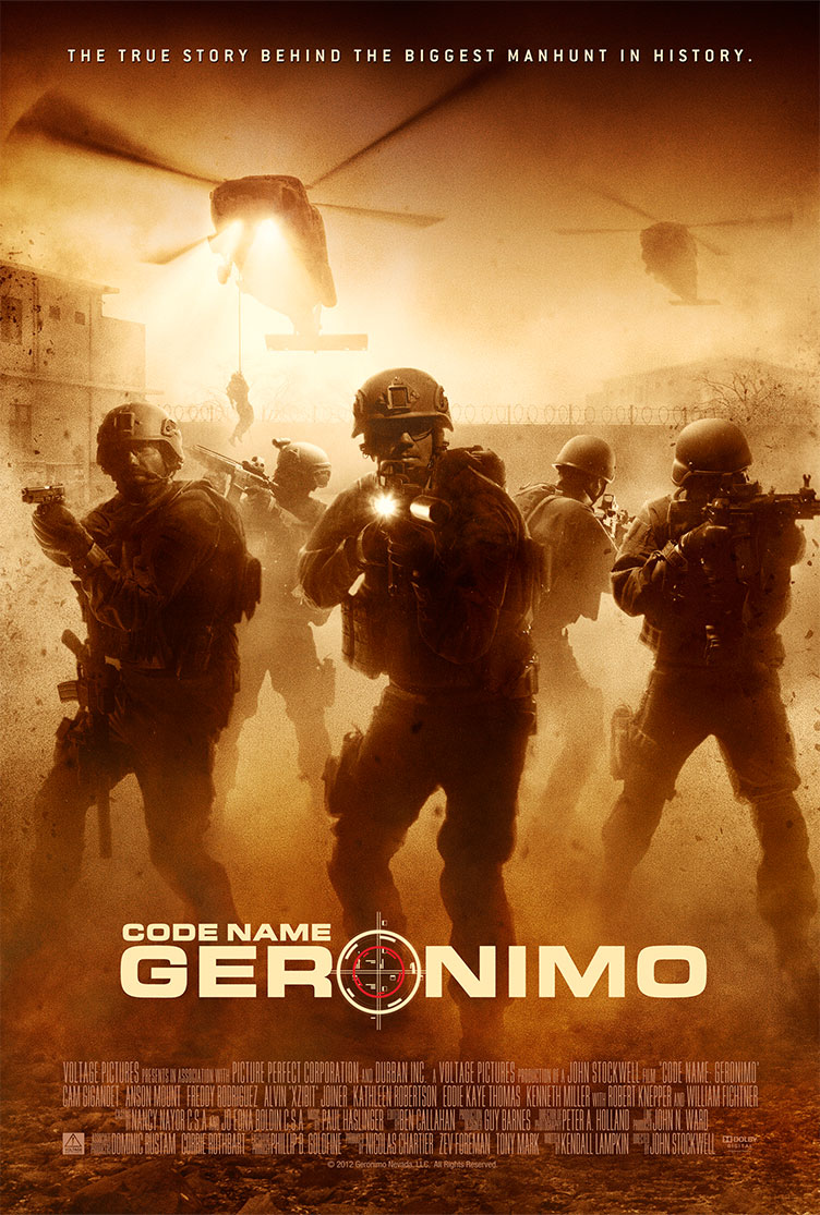 Code Name Geronimo | Key Art