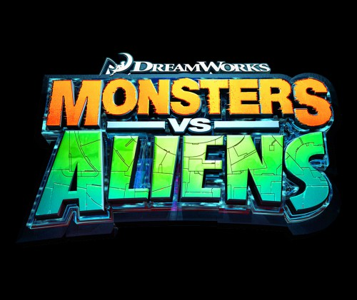 Monsters vs Aliens | Logo