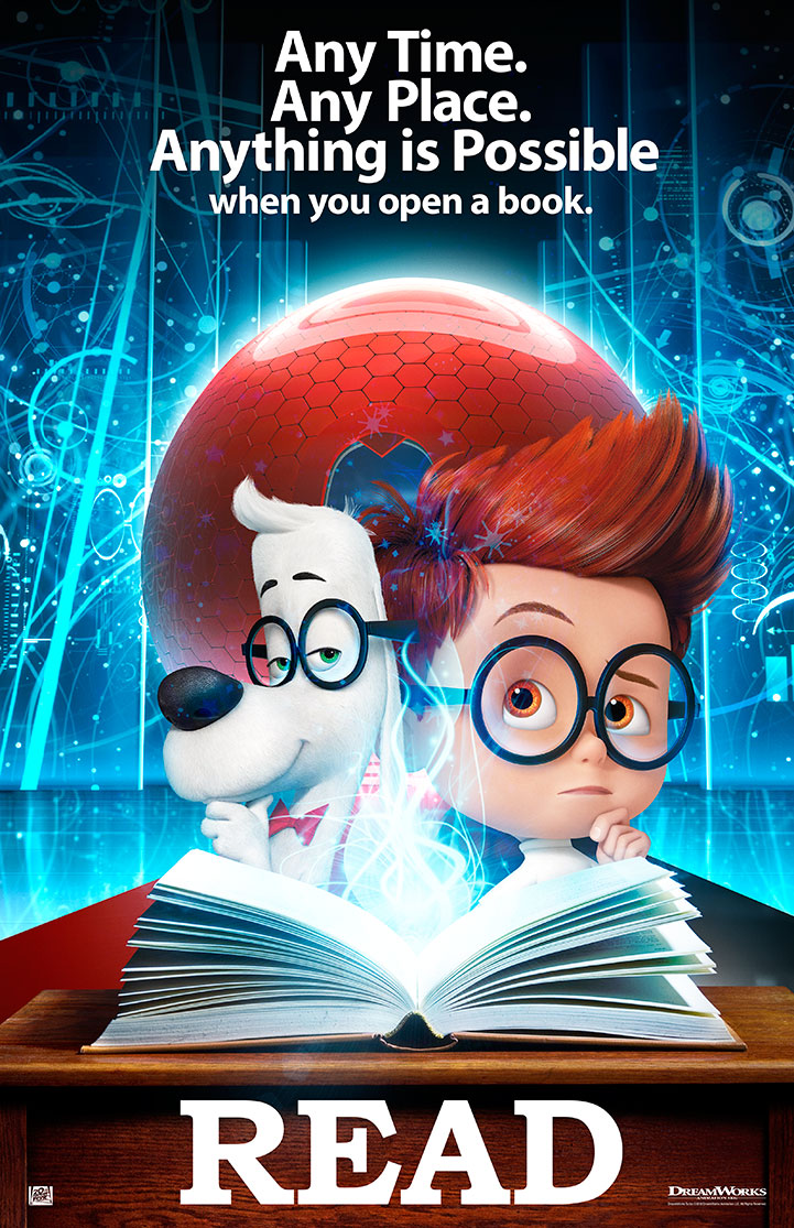 Mr. Peabody & Sherman | Read Poster