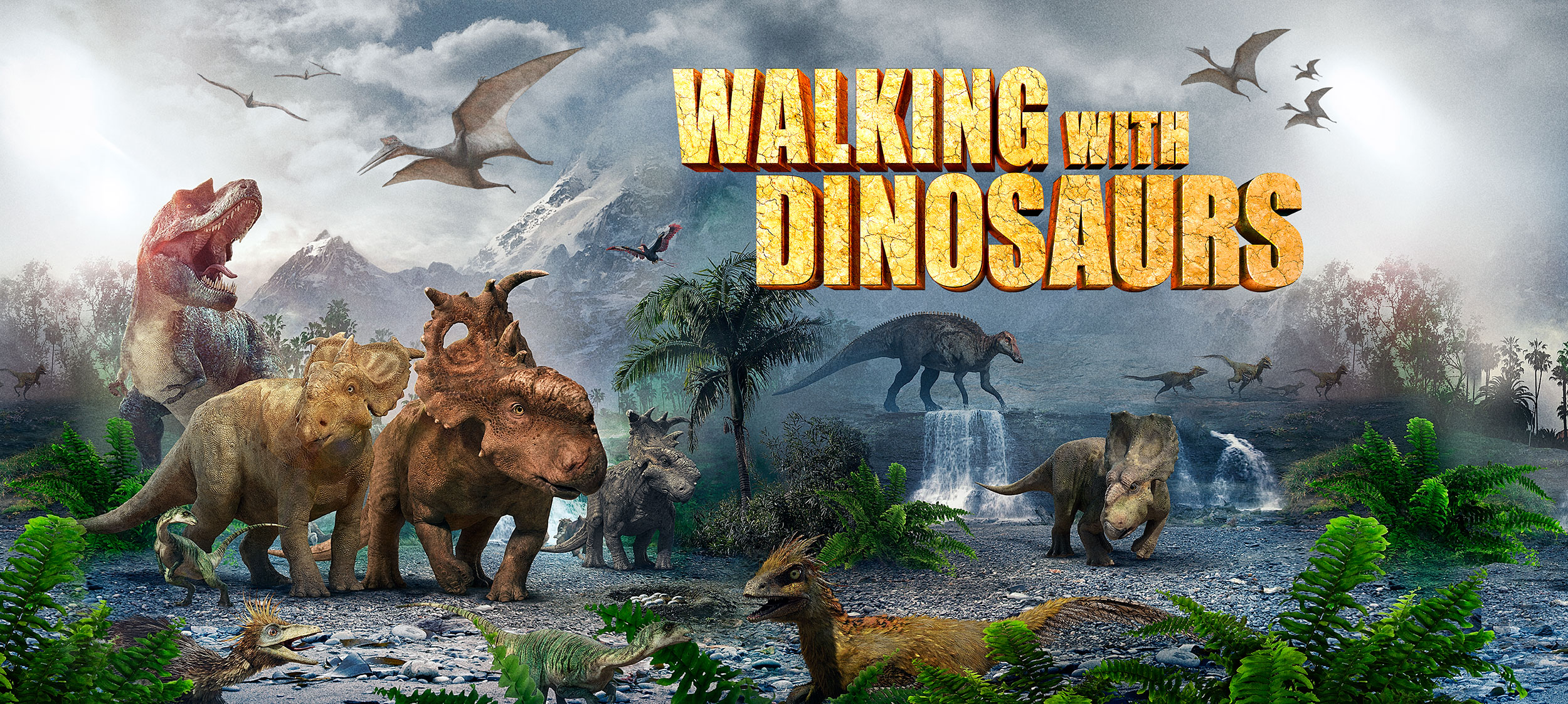 Walking With Dinosaurs 170ozPlasticTUB