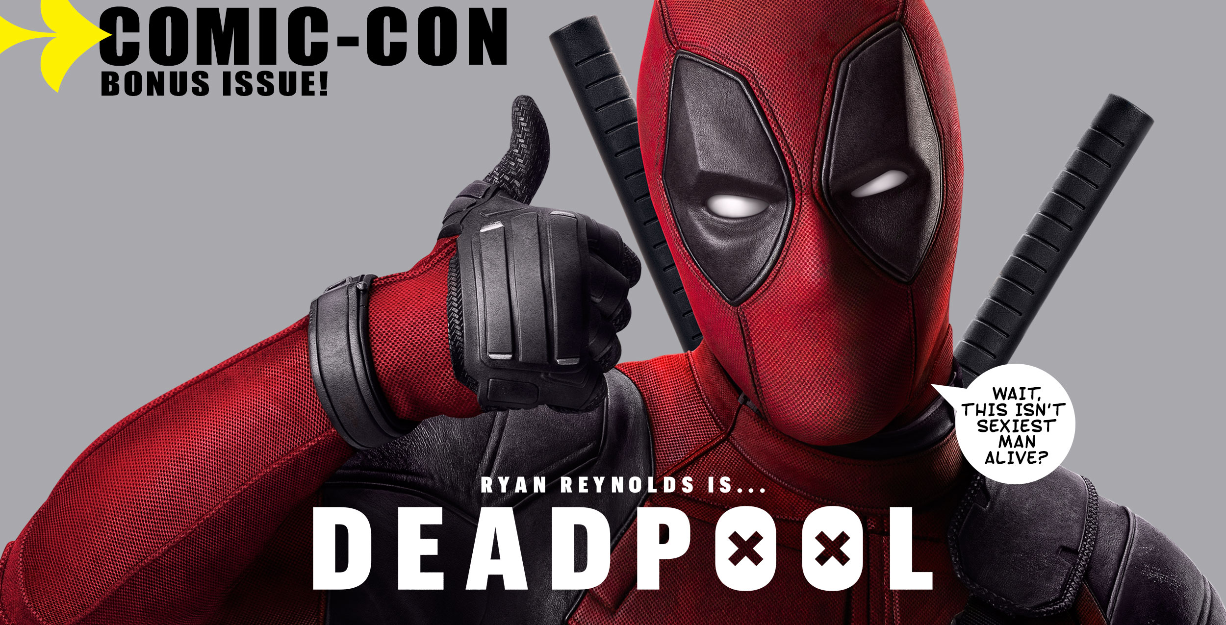 Deadpool | EW Comic - Con Magazine Cover