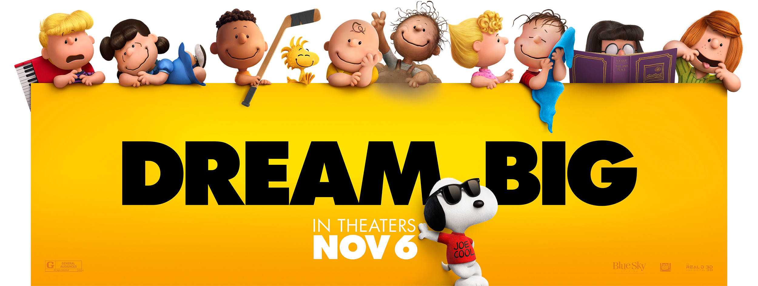 The Peanuts Movie | Billboard Design, Finishing & Illustration