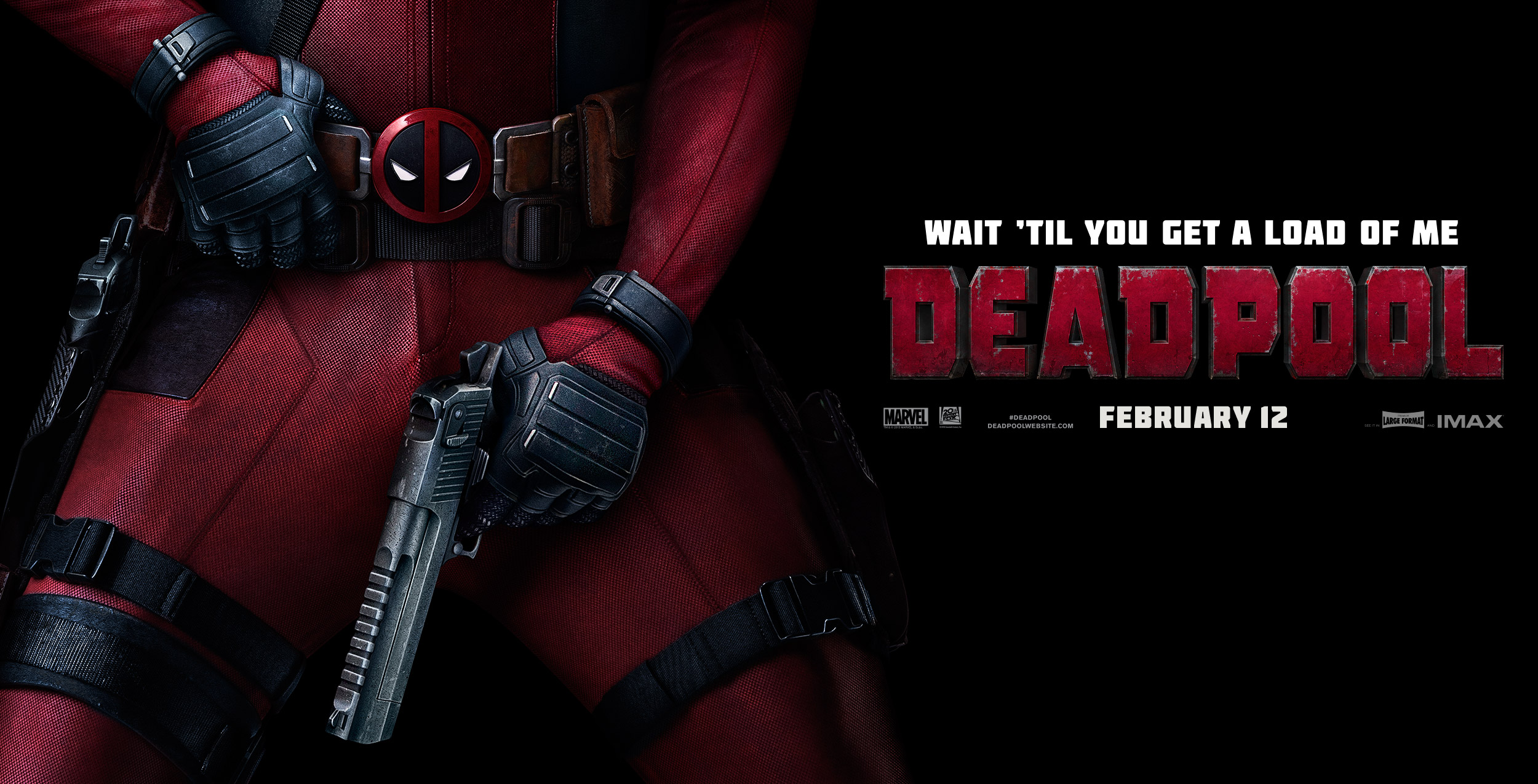 Deadpool | Banner Design, Finishing & Illustration