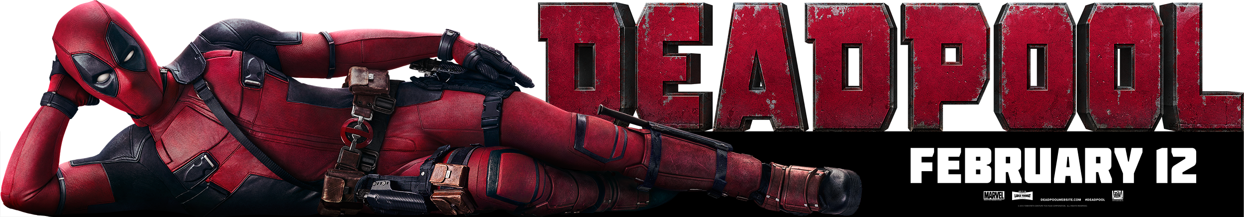 Deadpool | In Theater Topper Design, Finishing & Illustration