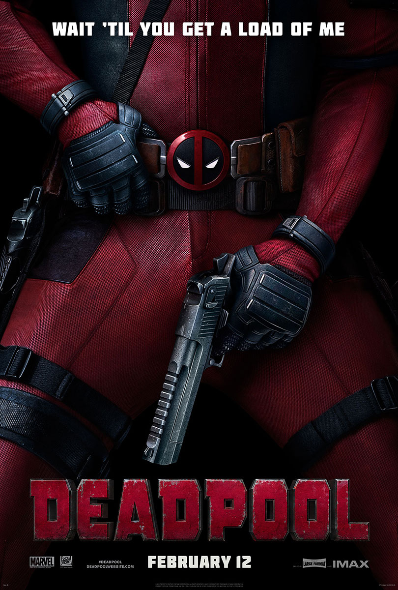 Deadpool | One-Sheet Teaser Design, Finishing & Illustration