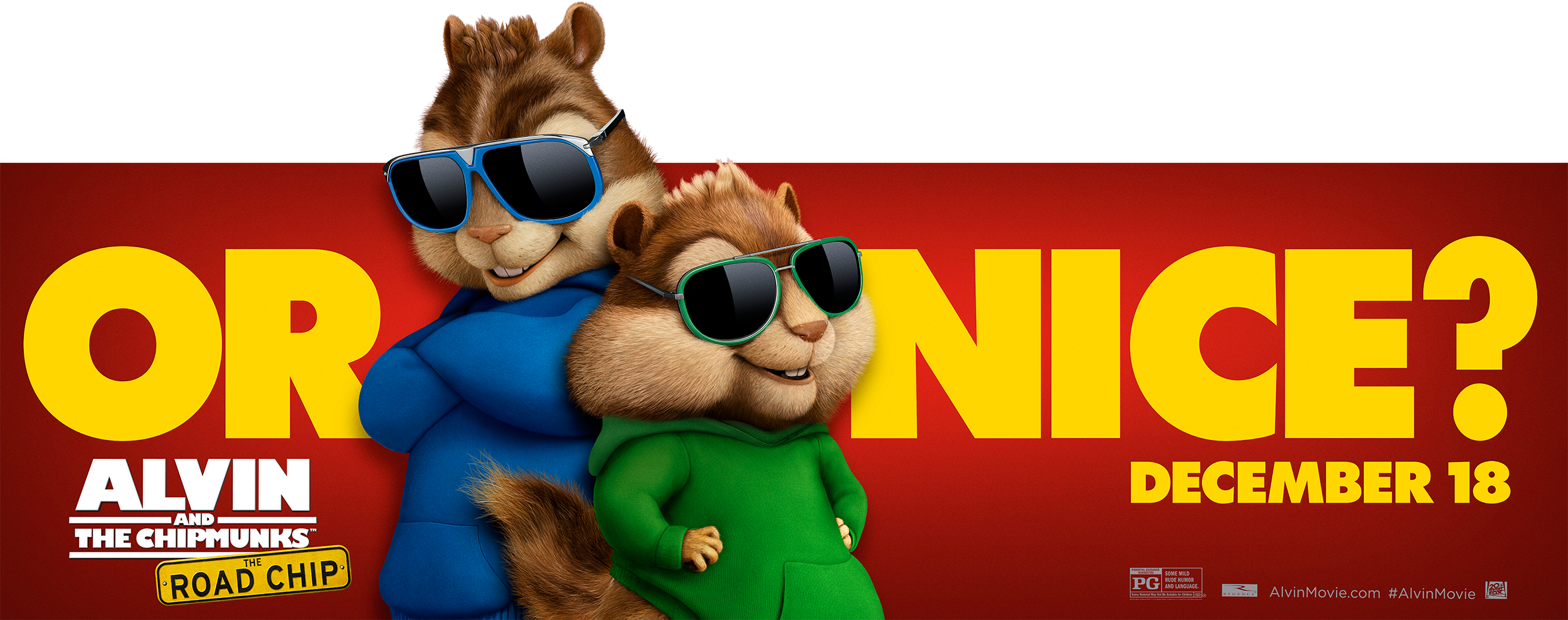 Alvin and the Chipmunks: The Road Chip | Billboard Finishing & Illustration