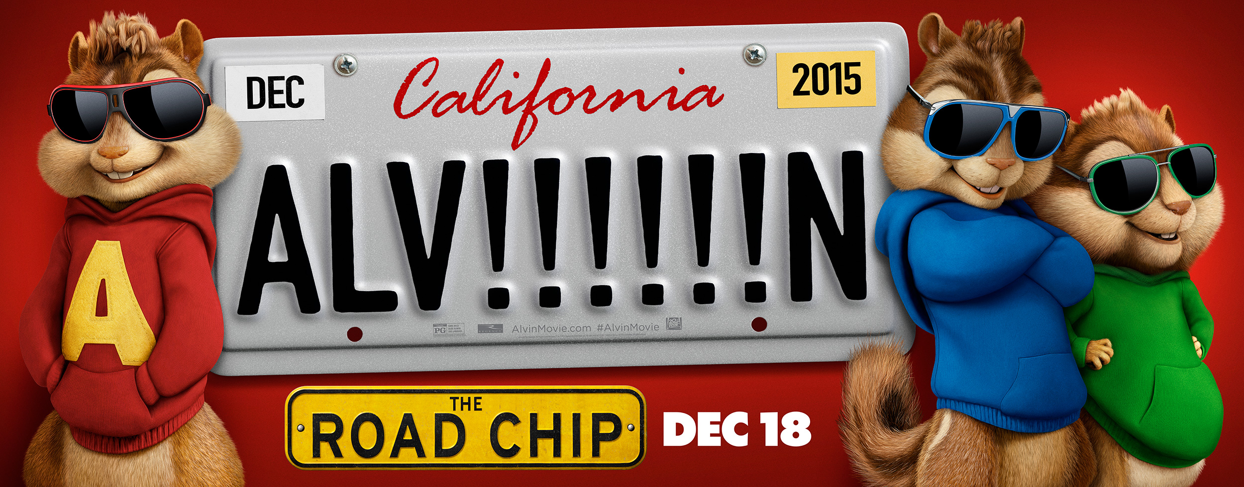 Alvin and the Chipmunks: The Road Chip | 405 Wall Finishing & Illustration