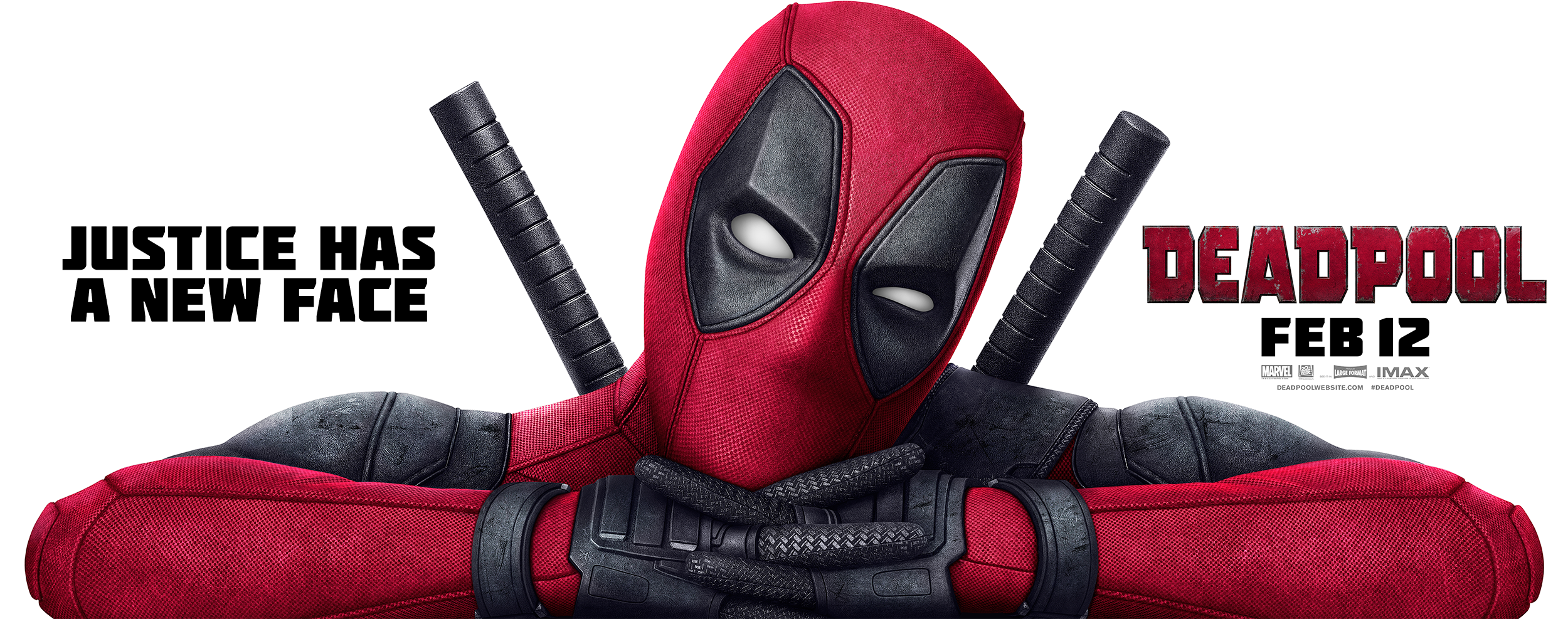 Deadpool | Billboard Design, Finishing & Illustration