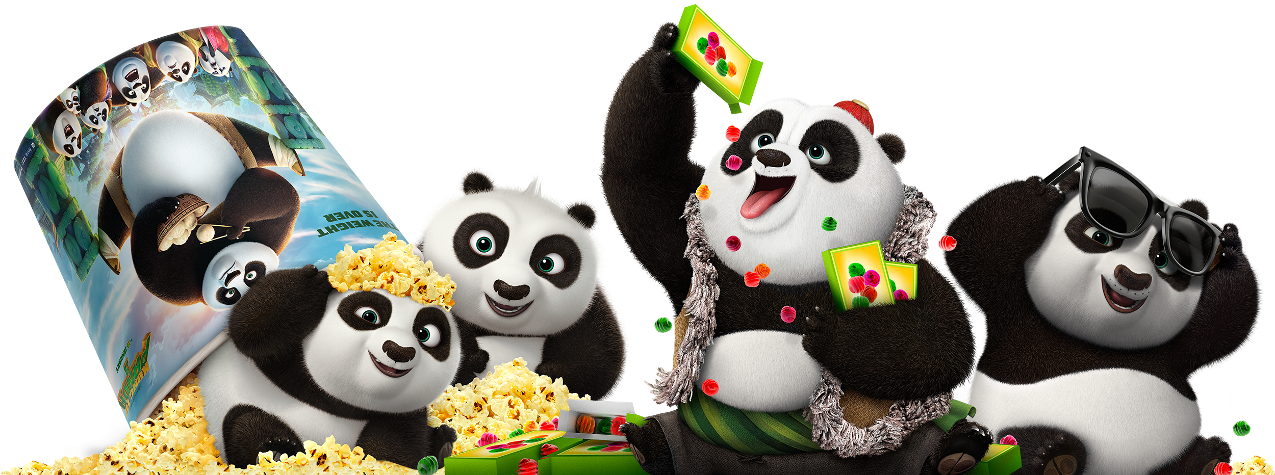 Kung Fu Panda 3 | Clings Finishing & Illustration