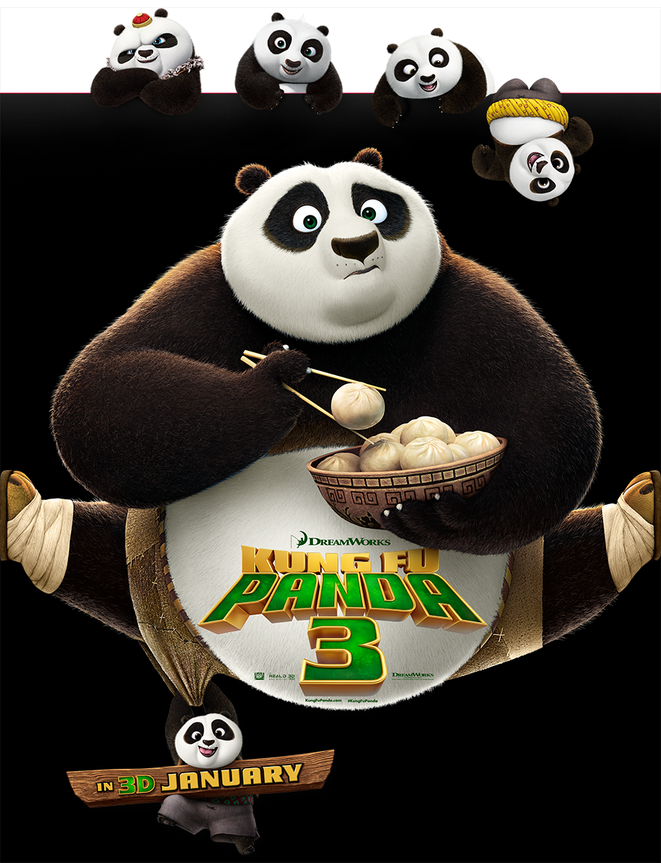 Kung Fu Panda 3 | Character Banner Finishing & Illustration