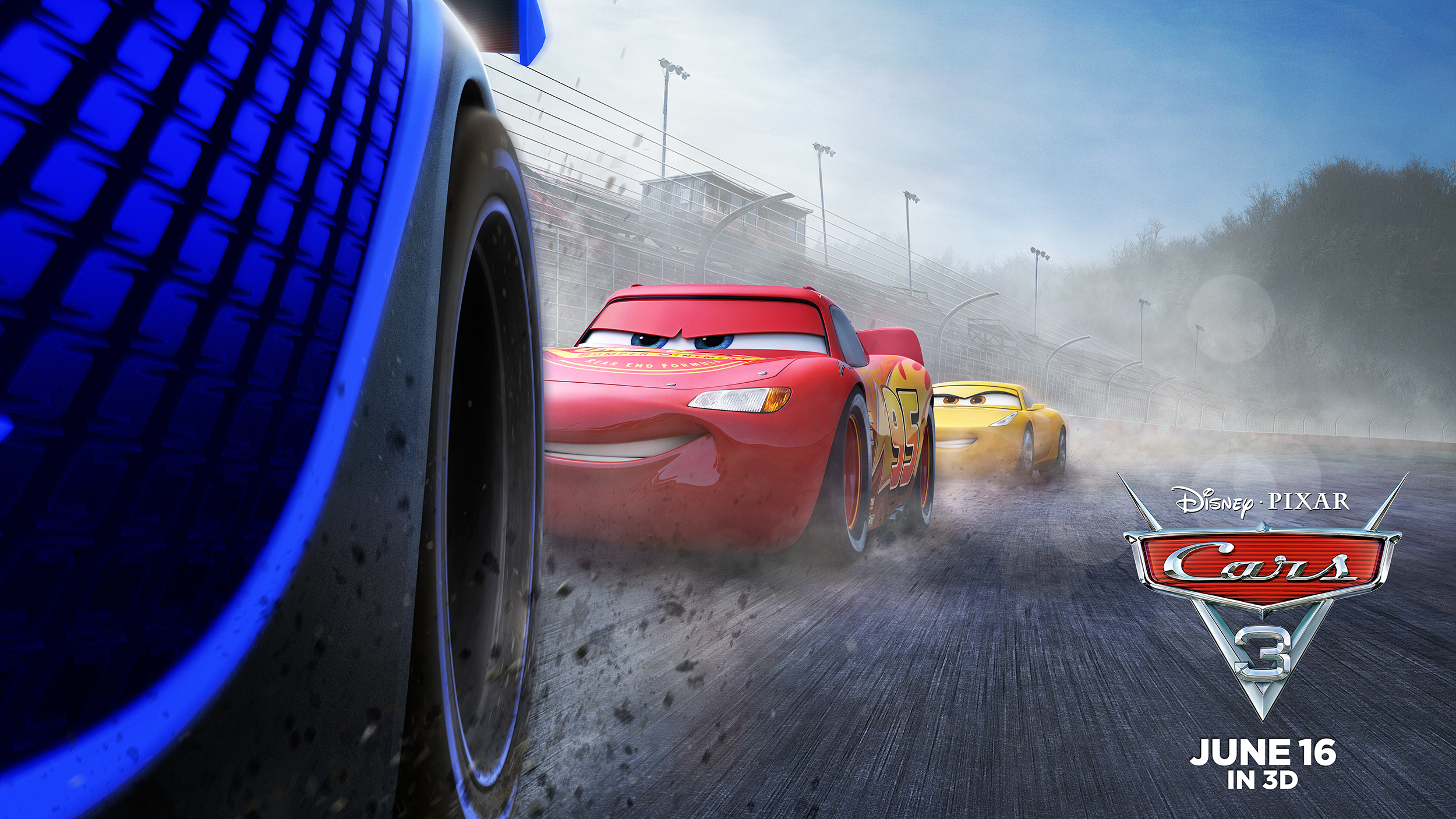 Cars 3 | International Live Sheet Finishing & Illustration