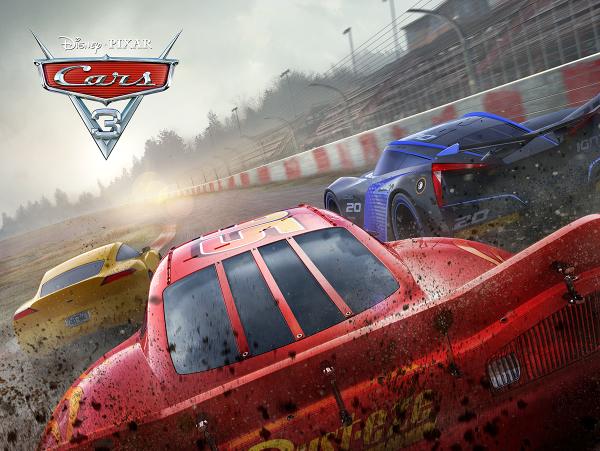 Cars 3 | International Quad Finishing & Illustration