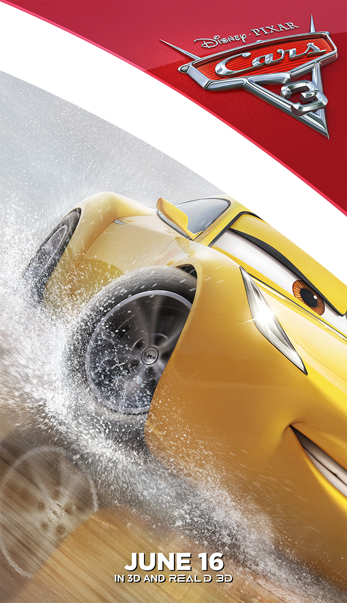 Cars 3 | Cruz Cling Concept, Finishing & Illustration