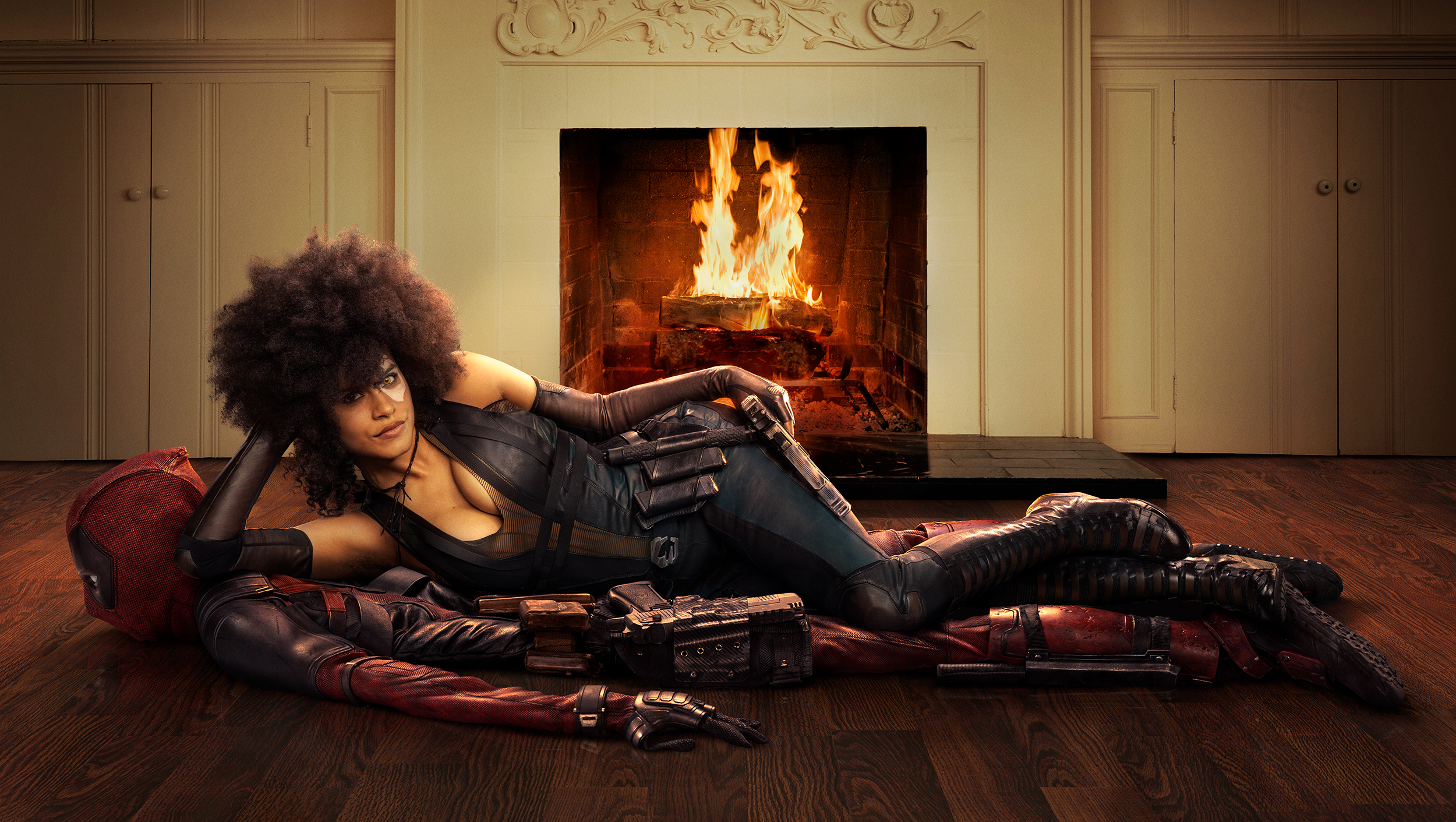 Deadpool 2 | Domino 1st Look Finishing & Illustration