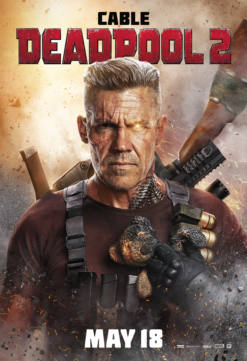 Deadpool 2 | Cable BS Finishing & Illustration