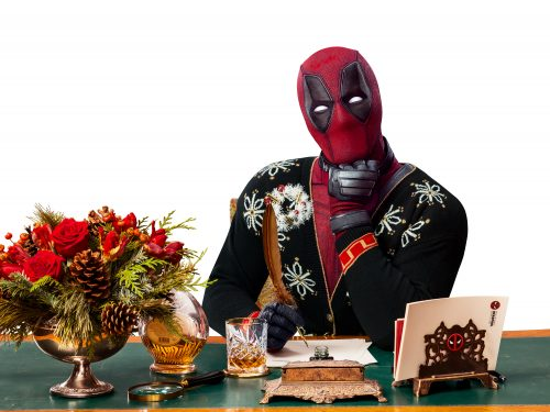 Deadpool 2 | Good Housekeeping Magazine Finishing & Illustration