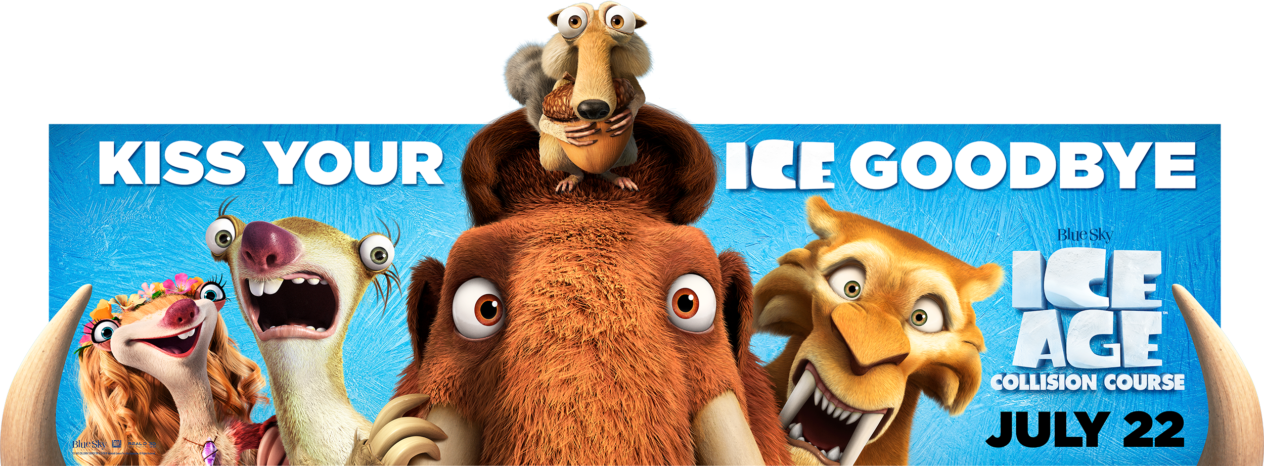 Ice Age: Collision Course | Billboard Finishing & Illustration