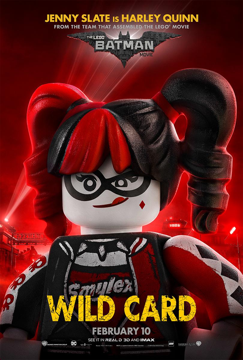 The Lego Batman Movie | Harley Bus Shelter Concept, Finishing & Illustration