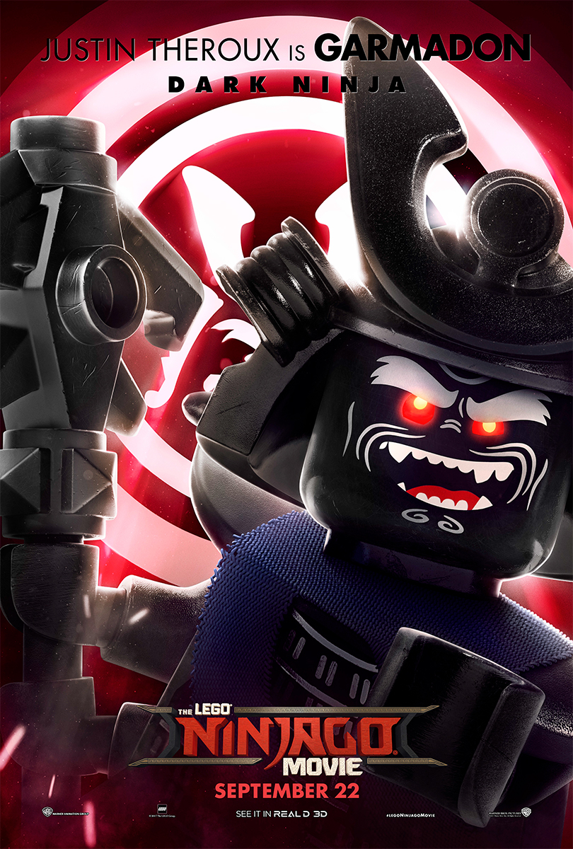 The Lego Ninjago Movie | Garmadon Banner Concept, Finishing & Illustration