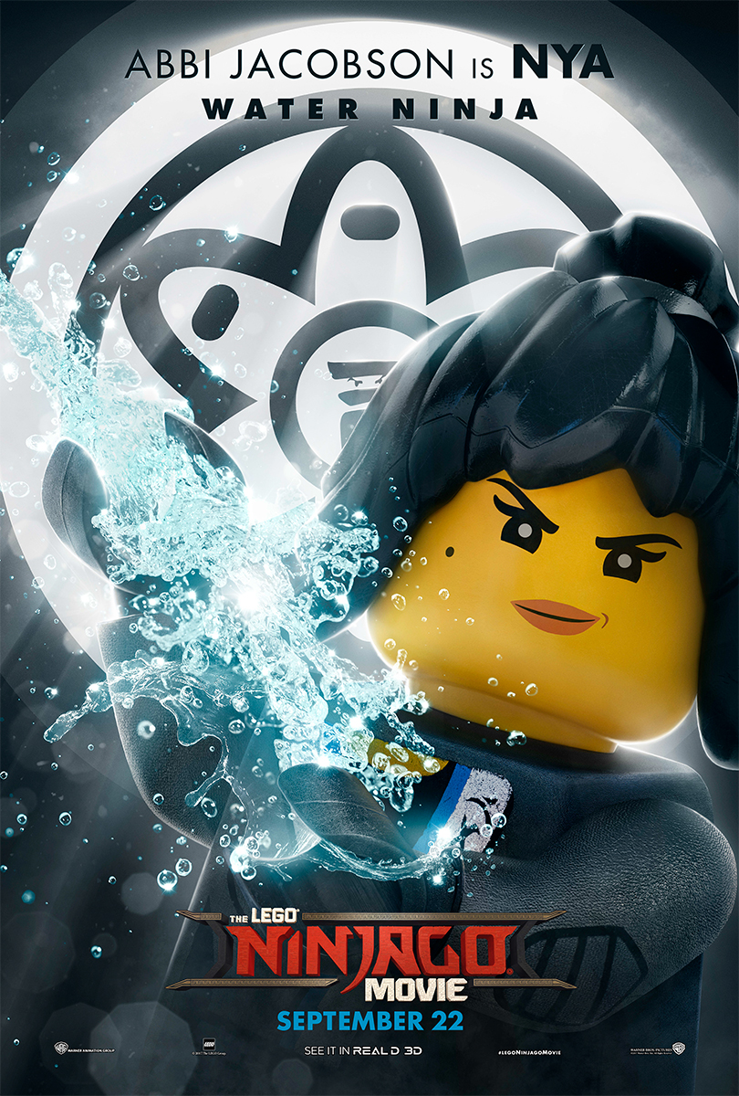 The Lego Ninjago Movie | Nya Banner Concept, Finishing & Illustration