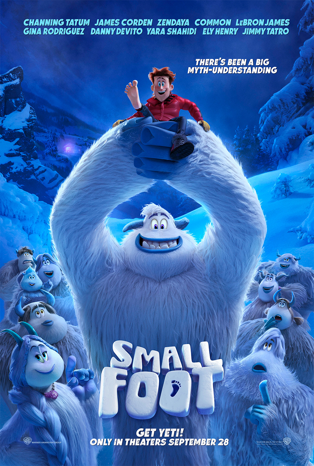 Smallfoot | One Sheet Concept, Finishing & Illustration