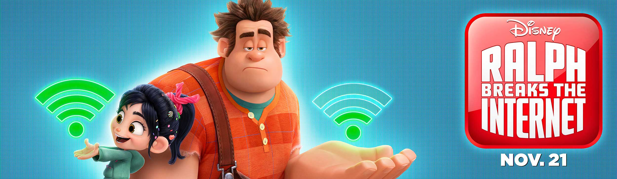 Ralph Breaks the Internet | Billboard Concept, Finishing & Illustration