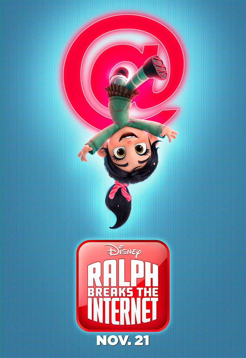 Ralph Breaks the Internet | Bus Shelter Concept, Finishing & Illustration