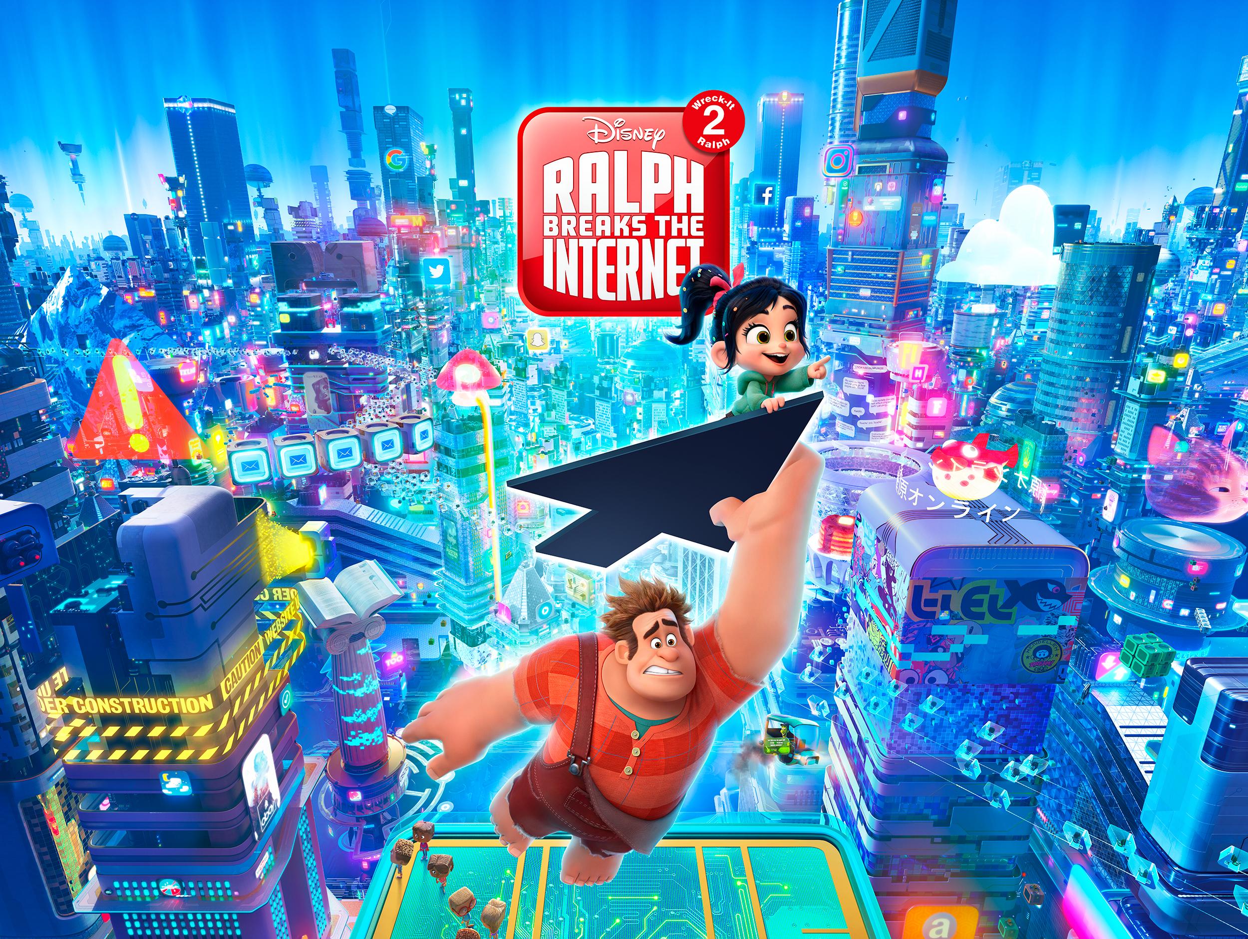 Wreck It Ralph Animation Movie 4k Hd Desktop Wallpaper For: RALPH BREAKS THE INTERNET