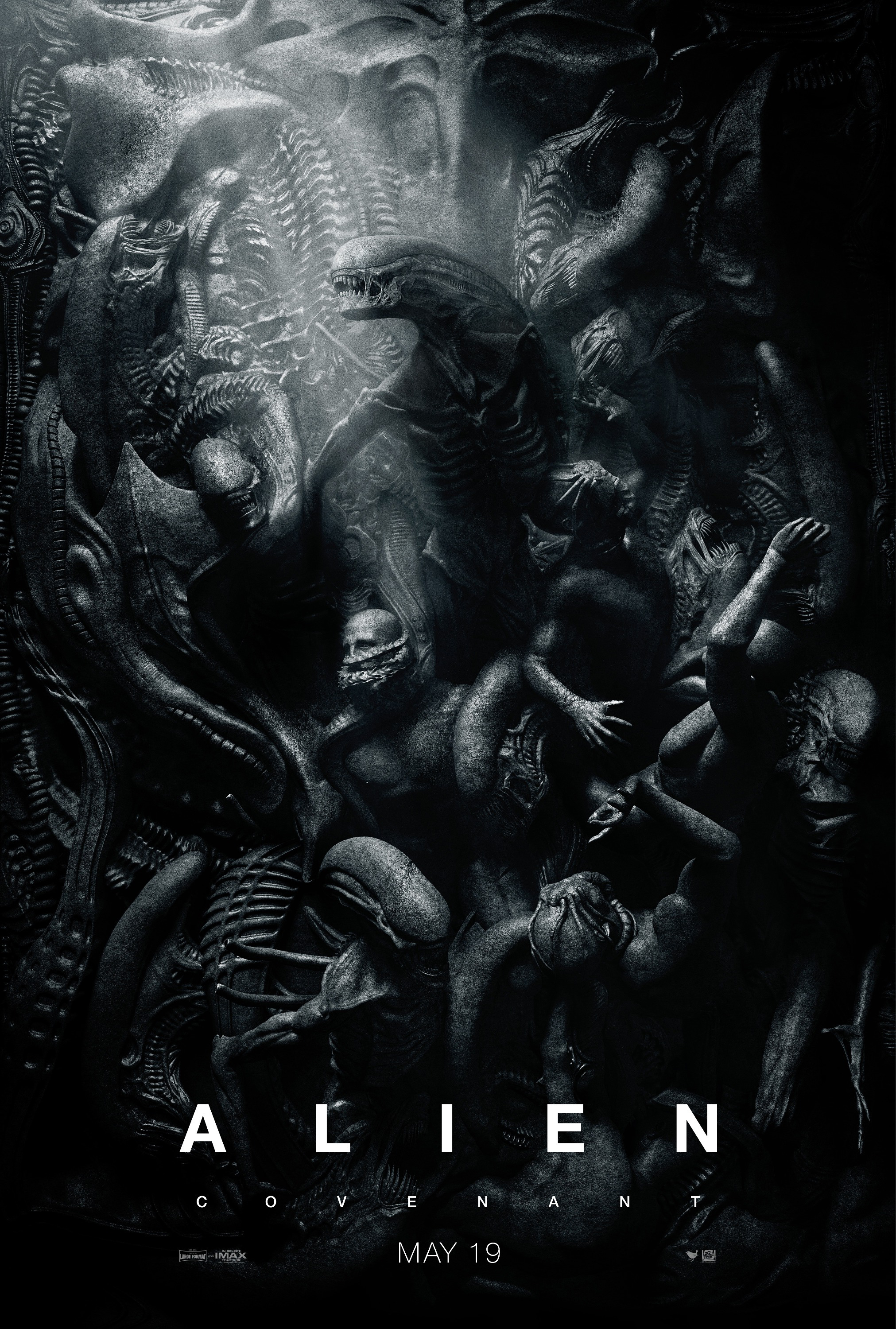 Alien: Covenant | One Sheet Finishing & Illustration