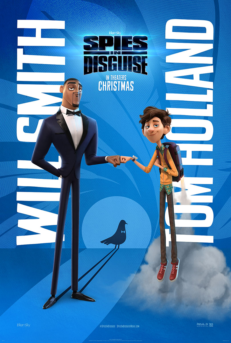 Spies in Disguise | One Sheet Finishing