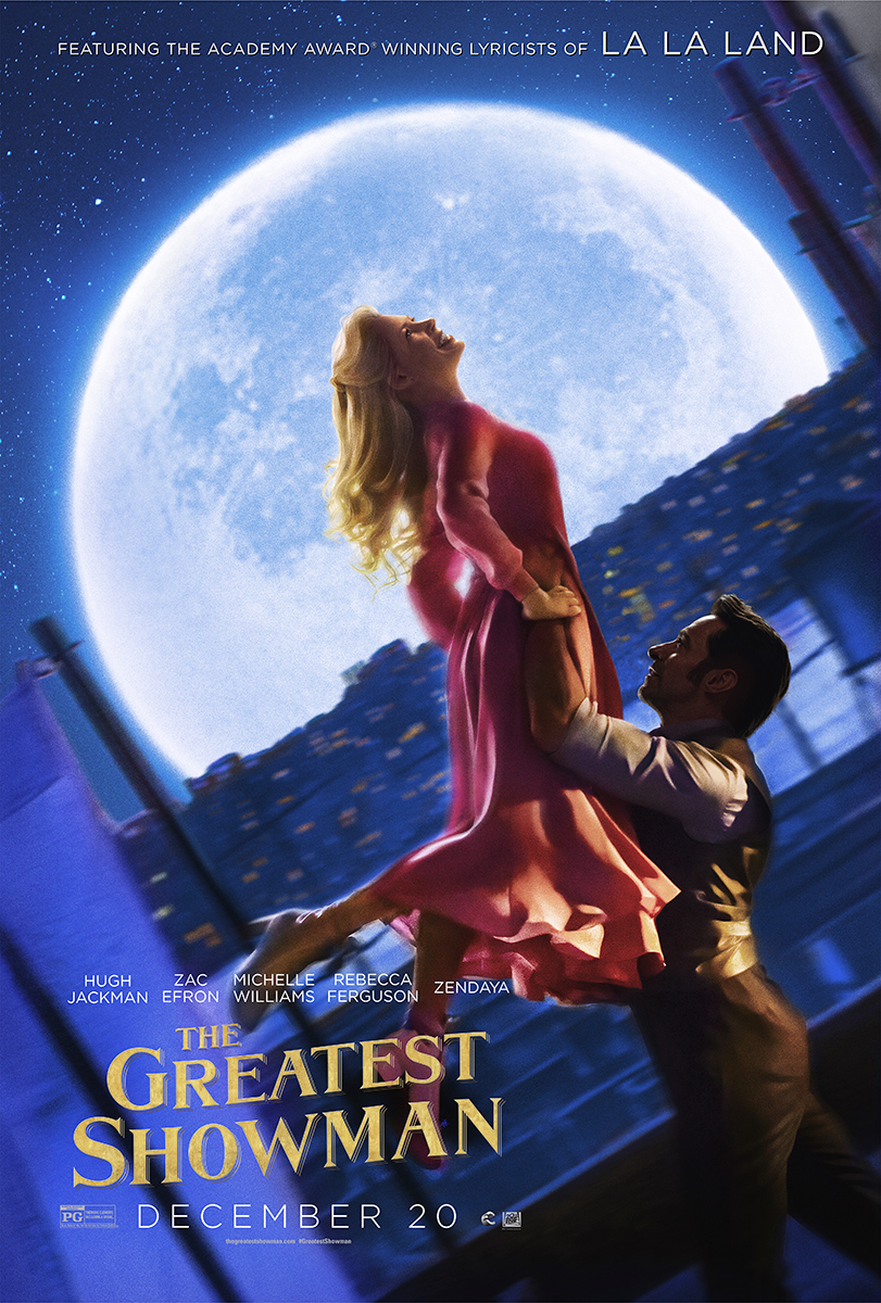 The Greatest Showman | Finishing & Illustration