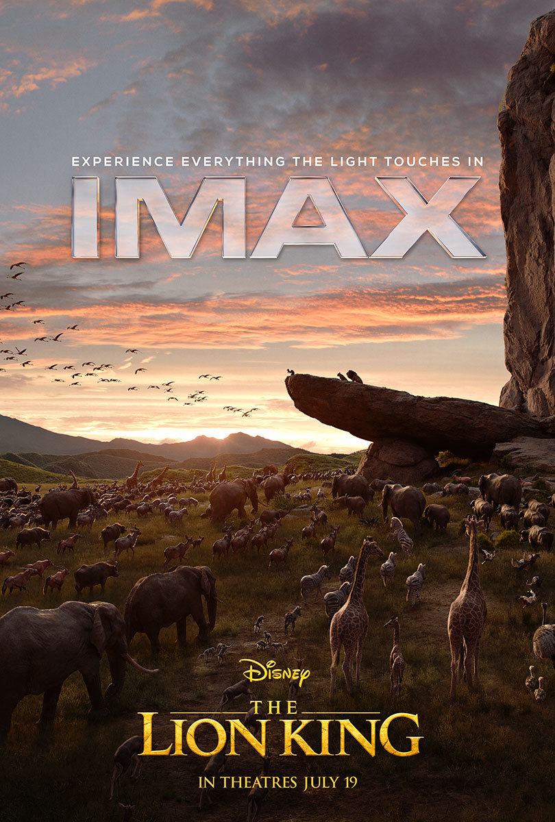 THE LION KING | IMAX ONE SHEET FINISHING & ILLUSTRATION