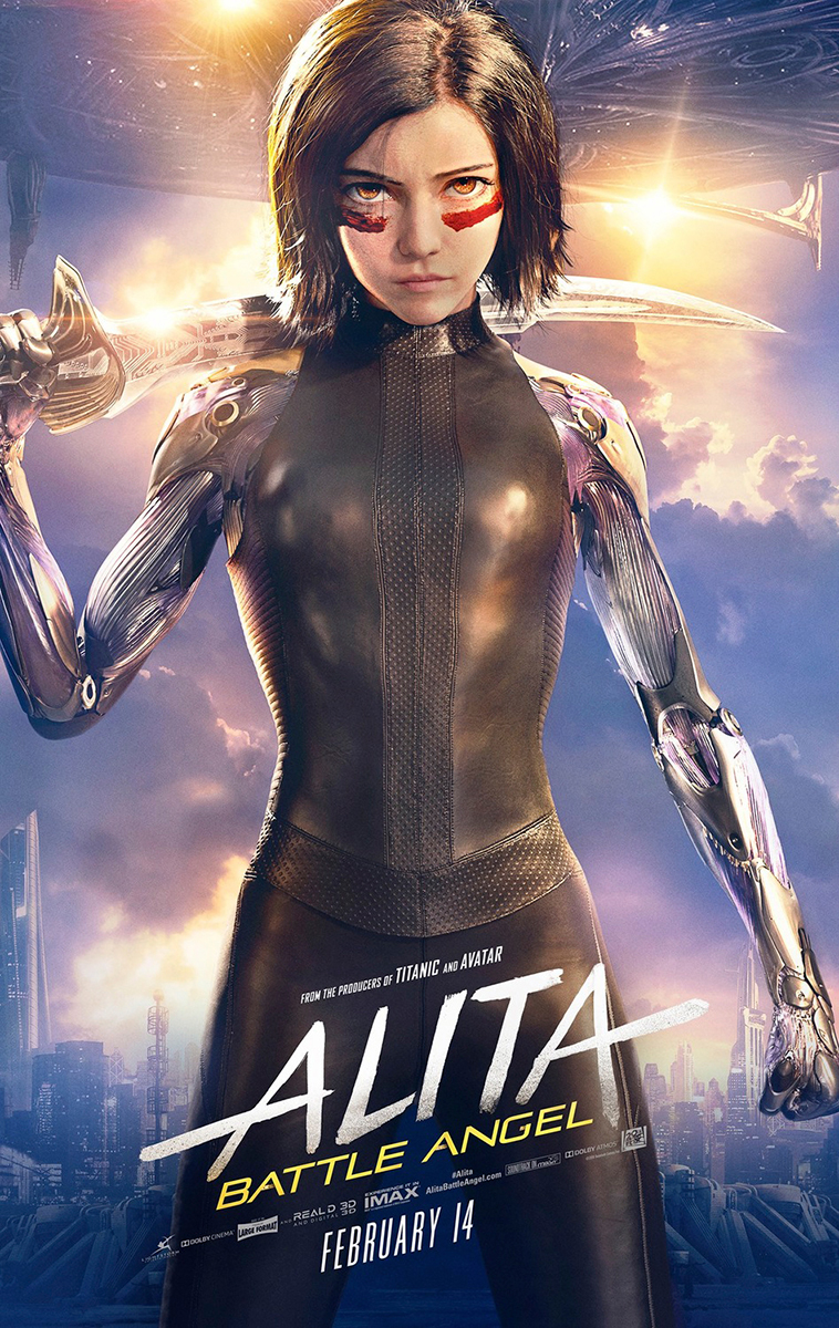 Alita: Battle Angel | Bus Shelter Finishing & Illustration