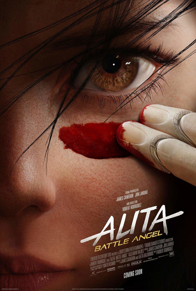 Alita: Battle Angel | One Sheet Finishing & Illustration