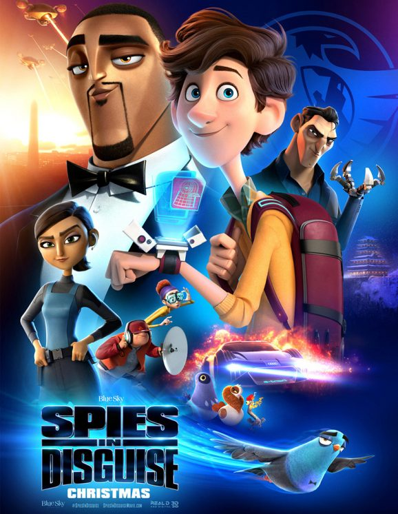 Spies in Disguise Project