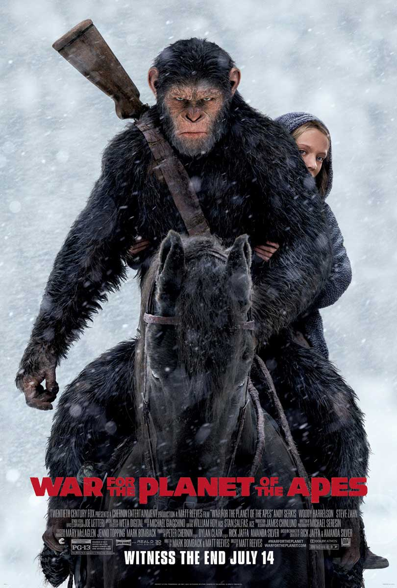 War for the Planet of the Apes | Finishing & Illustration