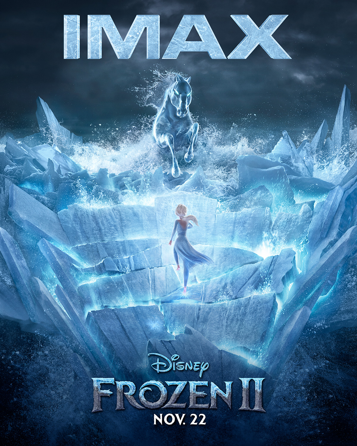 Frozen 2 | IMAX Concept, Finishing & Illustration