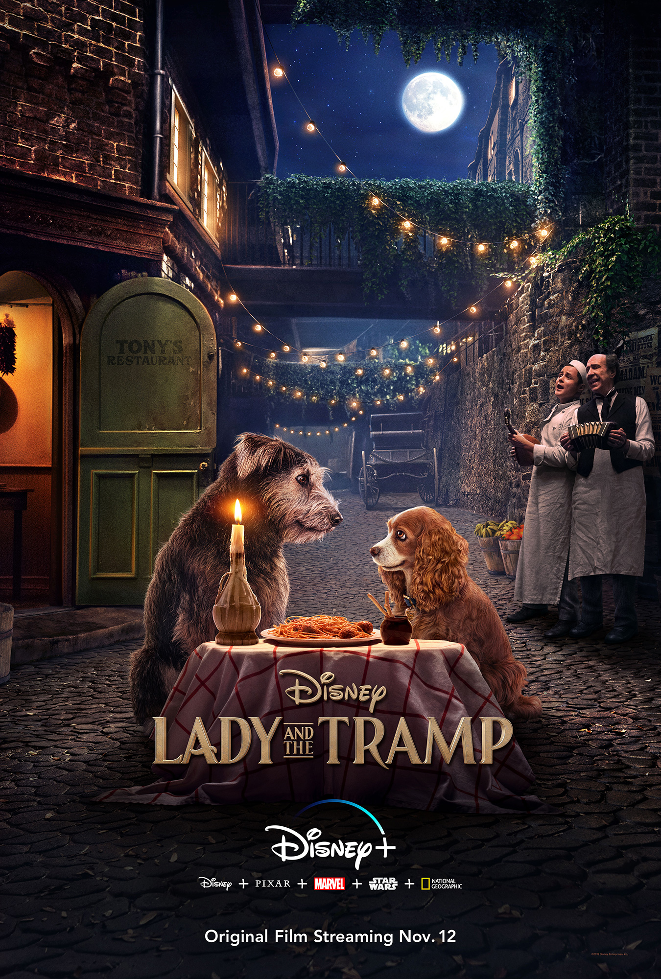 Lady and the Tramp | One Sheet Design, Finishing & Illustration