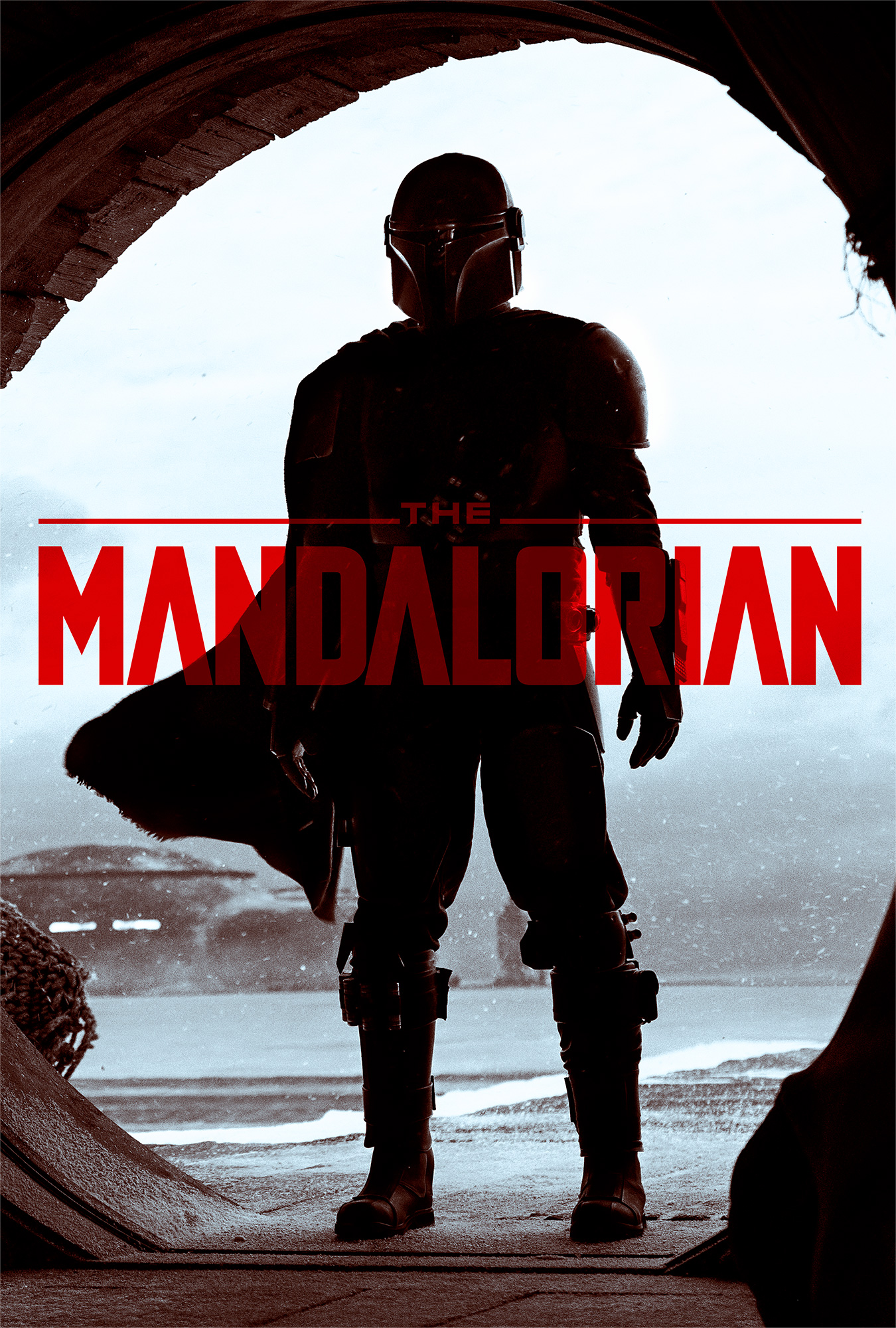 The Mandalorian | One Sheet Finishing & Illustration