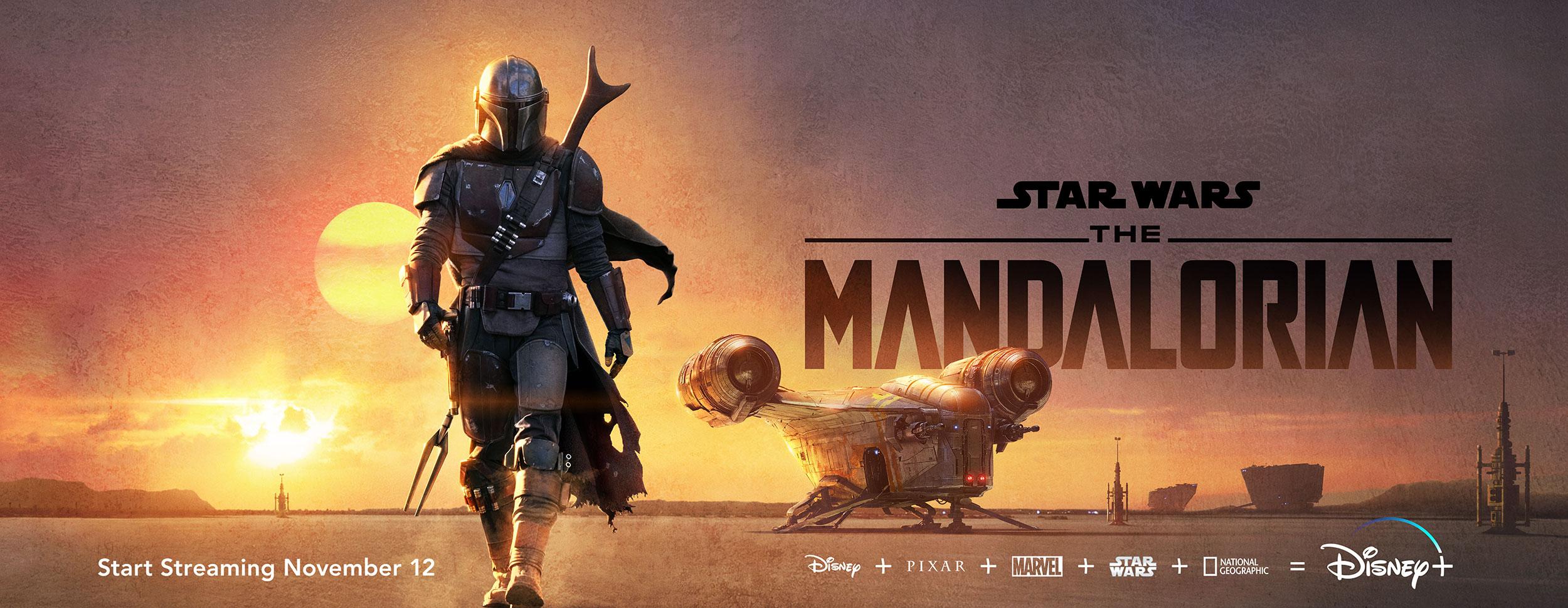The Mandalorian | Billboard Finishing & Illustration