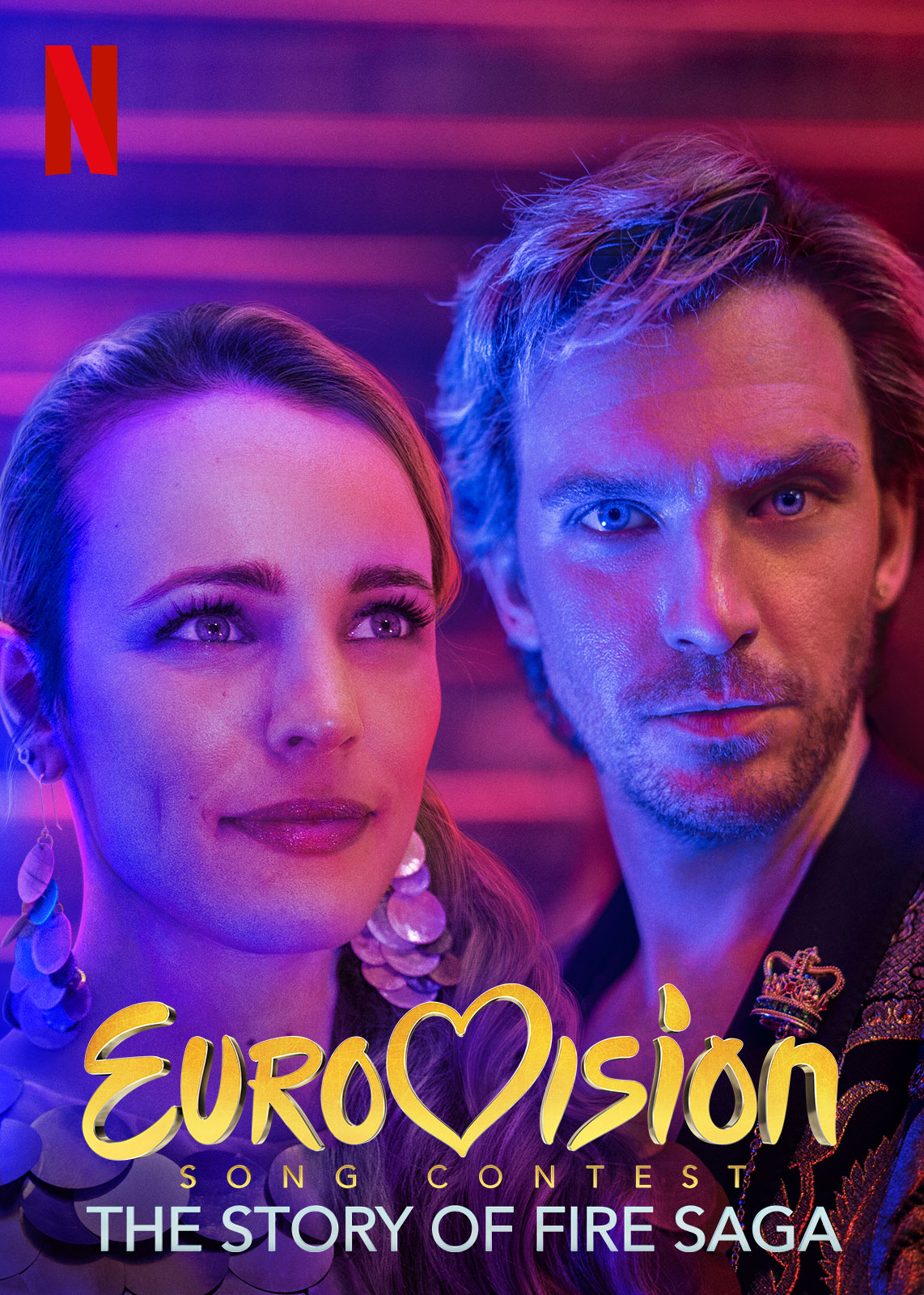 Eurovision | Netflix DA Concept, Finishing & Illustration