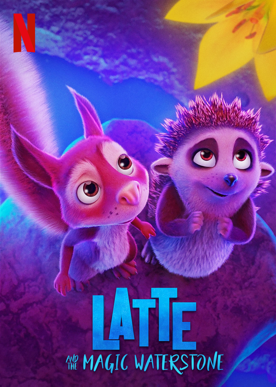 Latte and the Magic Waterstone | Netflix VDA Concept, Finishing & Illustration