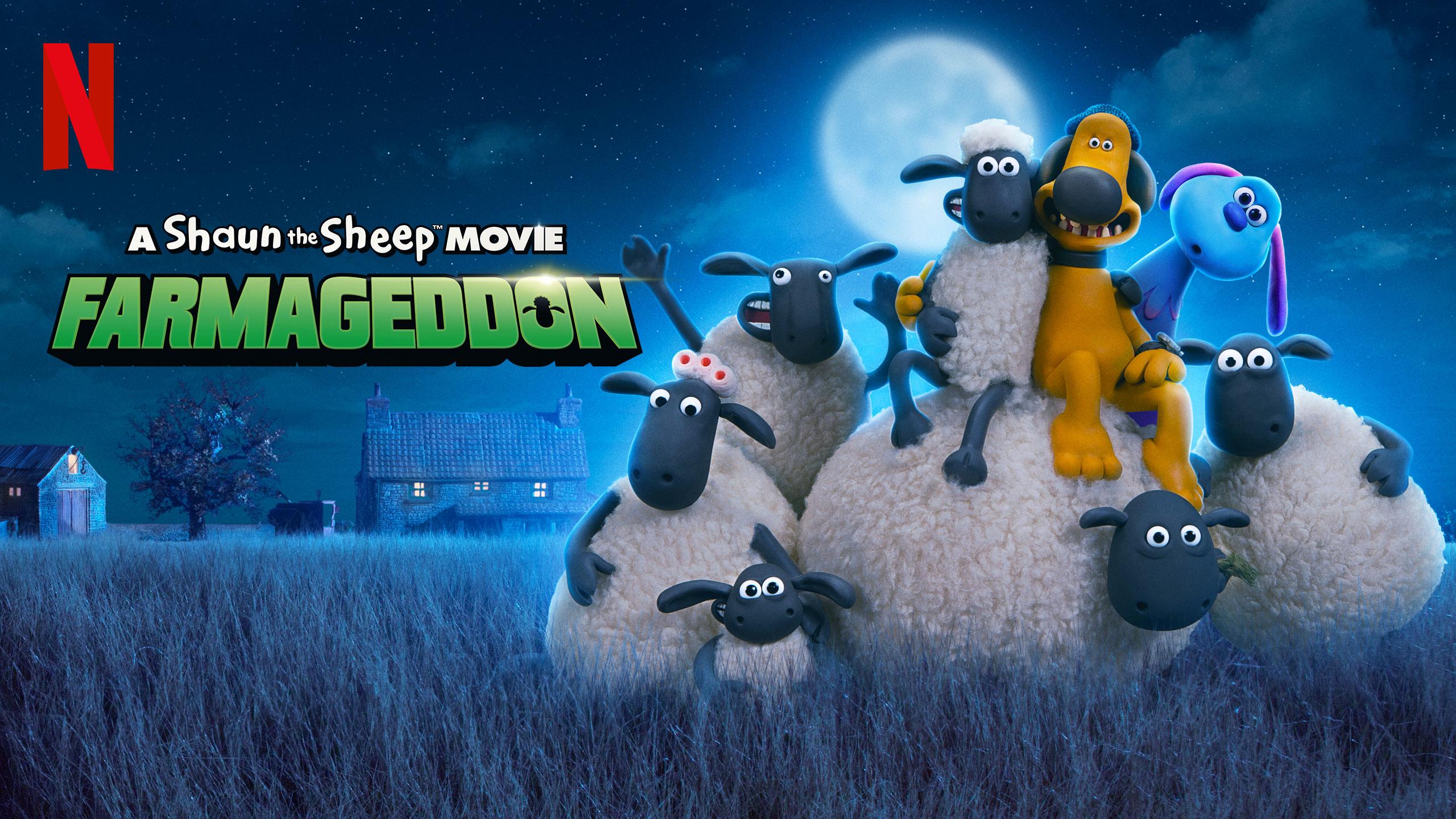 A Shaun the Sheep Movie: Farmageddon | Netflix HDA Concept, Finishing & Illustration