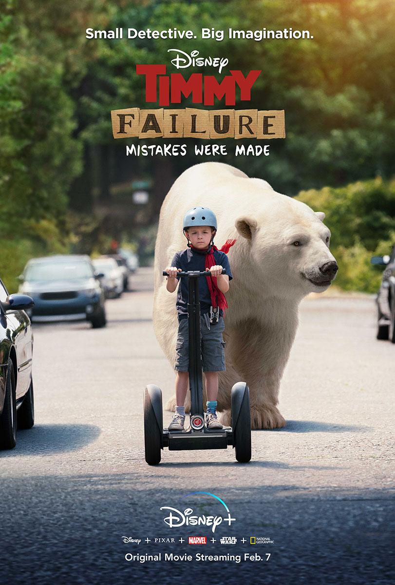 Timmy Failure | Disney+ Finishing & Illustration