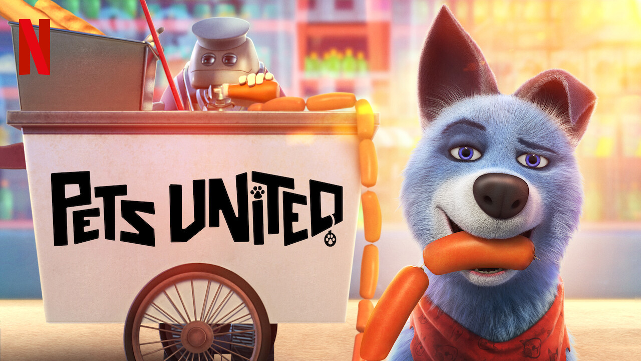 Pets United | Netflix DA Concept, Finishing & Illustration