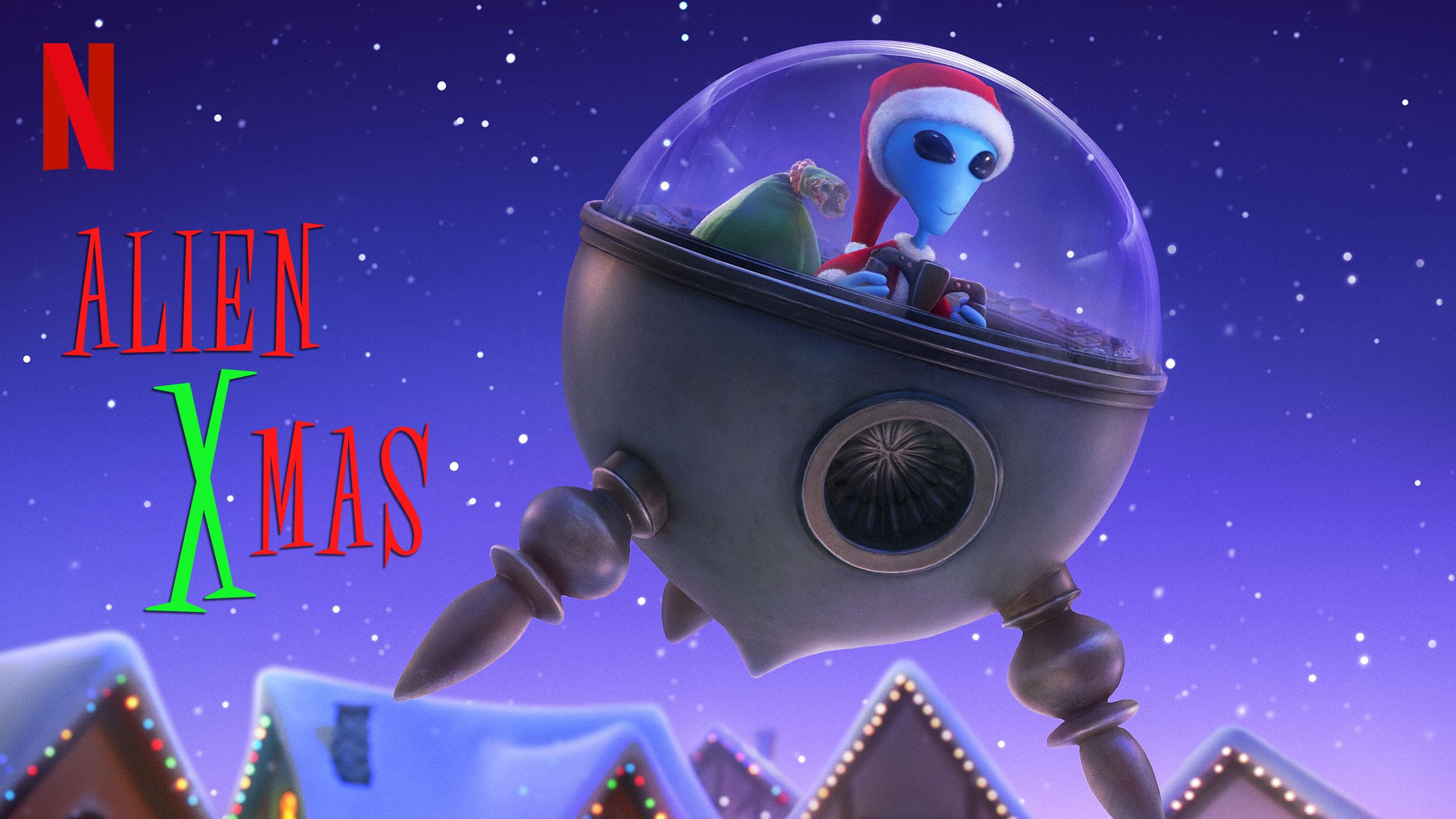 Alien XMas | Netflix DA Concept, Finishing & Illustration