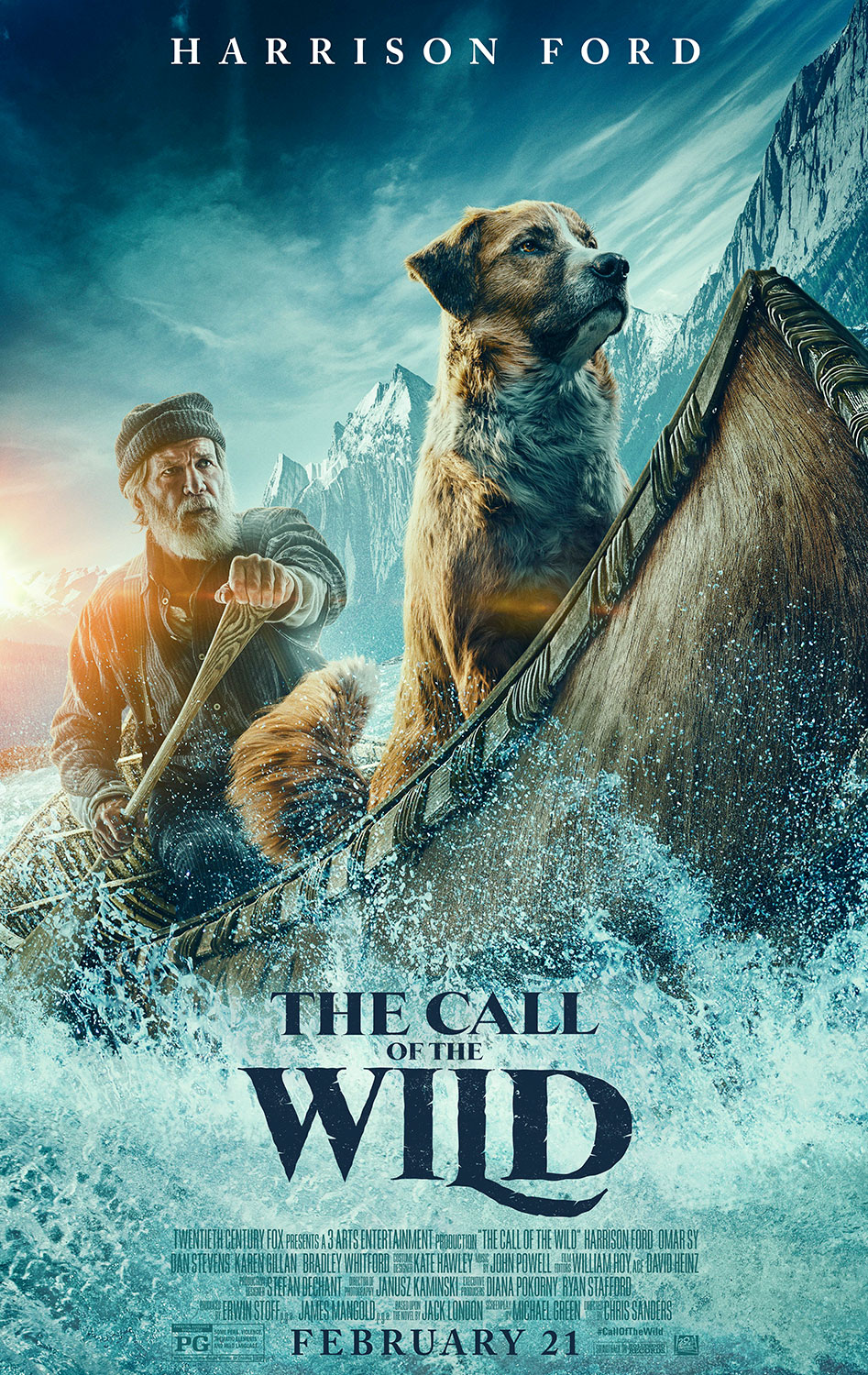 The Call of the Wild | Poster Finishing & Illustration